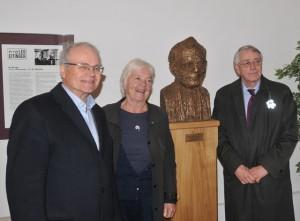 Ulrik Fredrik Malt, Astrid Nøklebye Heiberg a Lars Weisæth u bysty Lea Eitingera